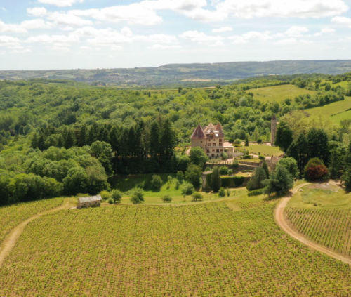 Le Château de Couches en Côtes du Couchois